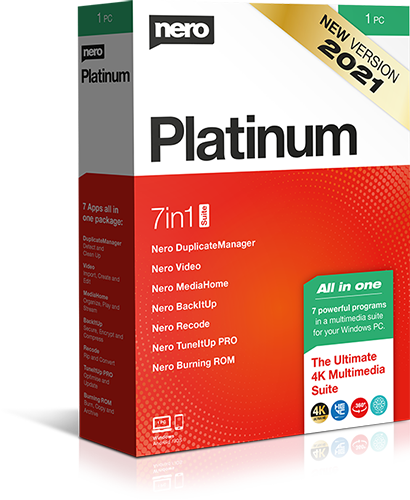 Nero Platinum Suite 2021 23.0.1010 (Win x64)